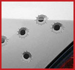 Bullet holes from Demon Graphics